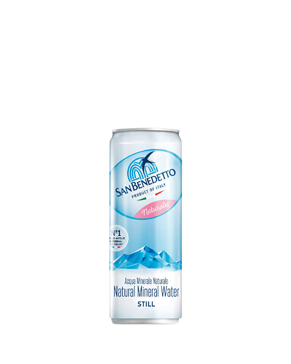 San Benedetto Still Water Cans 24x33Cl