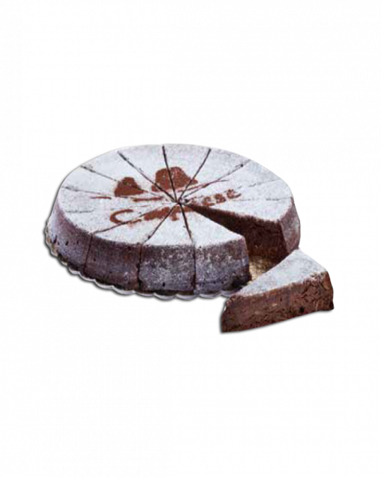 Almond & Chocolate Cake Torta Caprese Dolce Milano 1.2kg