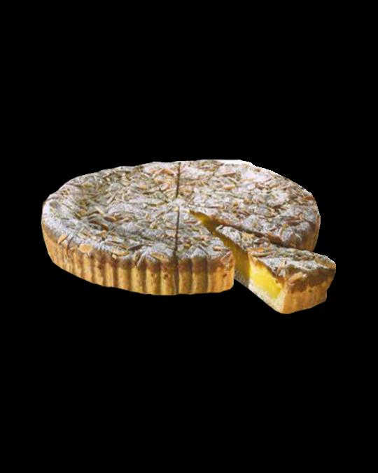 Custard and Pine Nut Tart Torta Della Nonna Dolce Milano 1.4kg