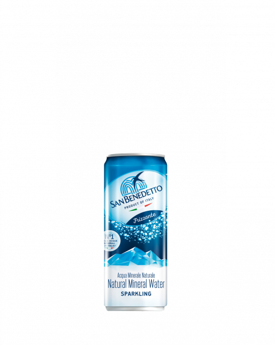San Benedetto Spark Water Cans 24x33Cl