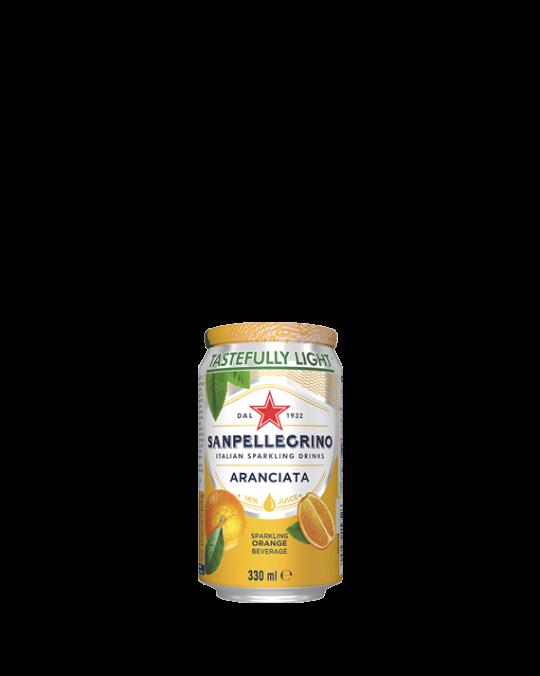 Aranciata San Pellegrino Cans 24x330ml