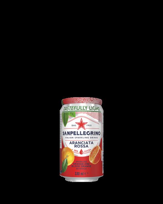 Aranciata Rossa San Pel. Cans 24x330ml
