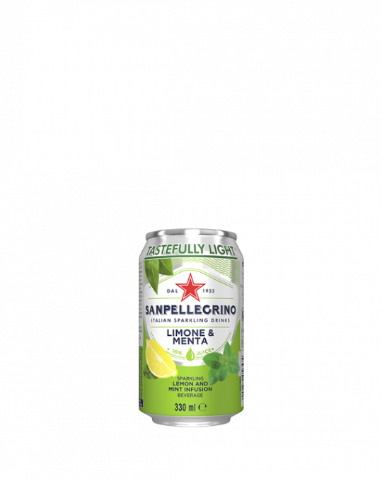 Lemon & Mint San Pellegrino 24 x 33Cl
