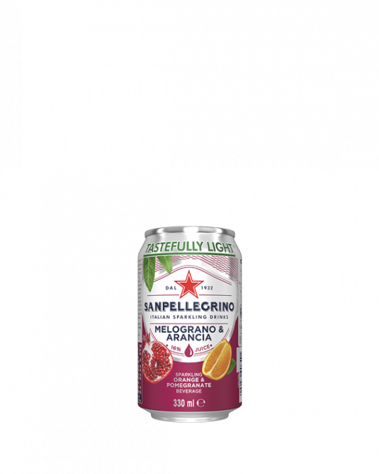 Pomegranite & Orange San Pellegrino 24 x 33Cl