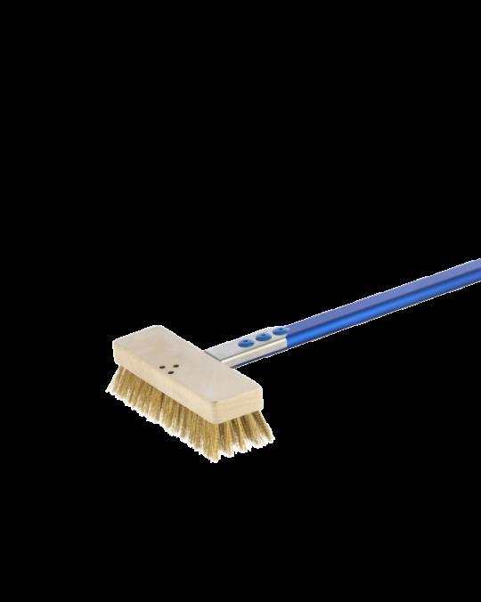 Natural Bristle Oven Brush 150cm Handle Gi Metal