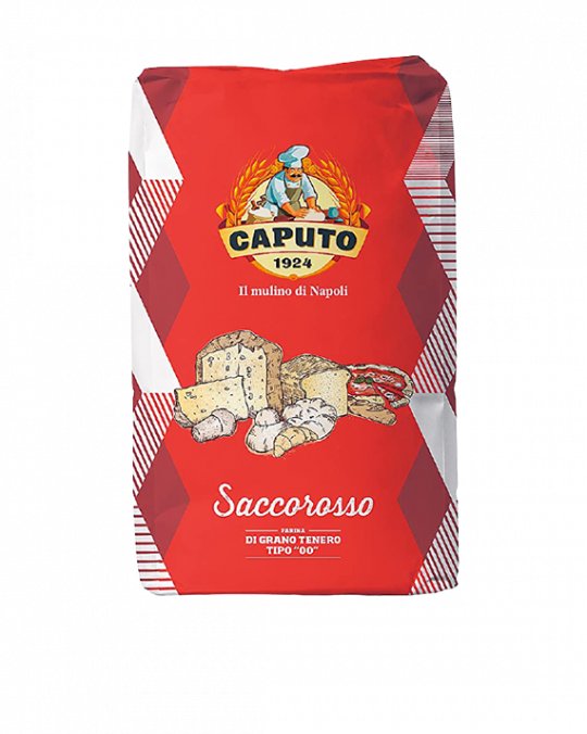 00 Red Flour Farina Tipo 00 Rossa Caputo 15kg