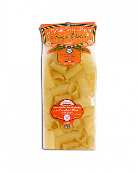 Paccheri Lisci Di Gragnano Senza Glutine 6x500gr