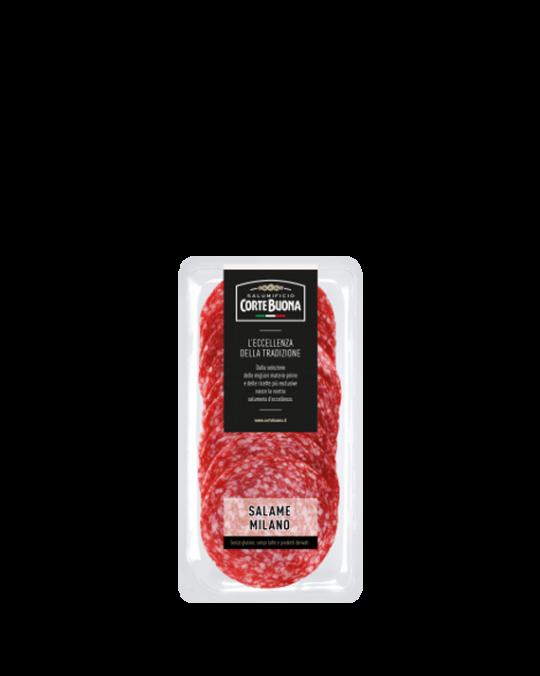 Salame Milano Sliced Cortebuona 15x80gr