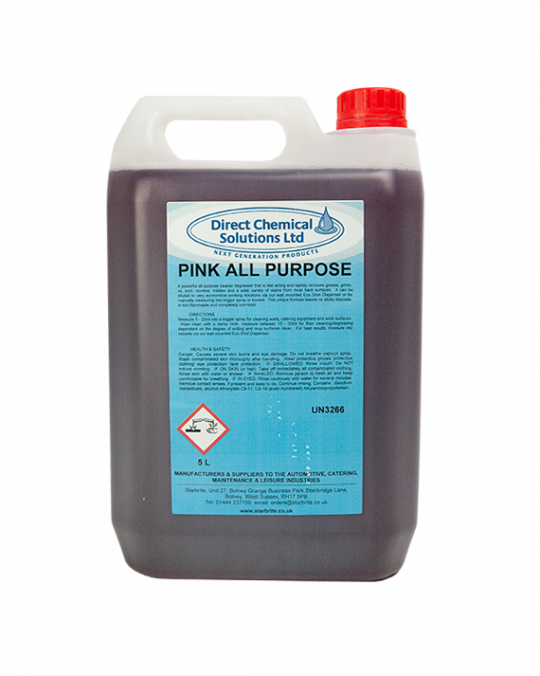 All Purpose Degreaser Pink 5L