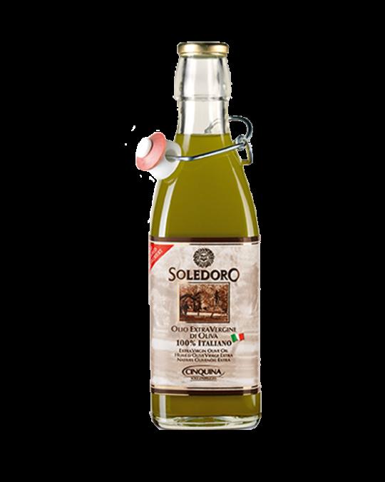 Extra Virgin Olive Oil Non-FiLered 100% Italian Sole D'Abruzzo 6x1L