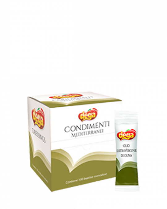 Extra Virgin Olive Oil Sachets Dega 100x10Ml