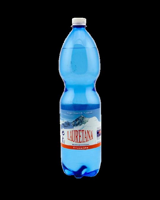 Lauretana Sparkling Water Plastic 6x1.5L