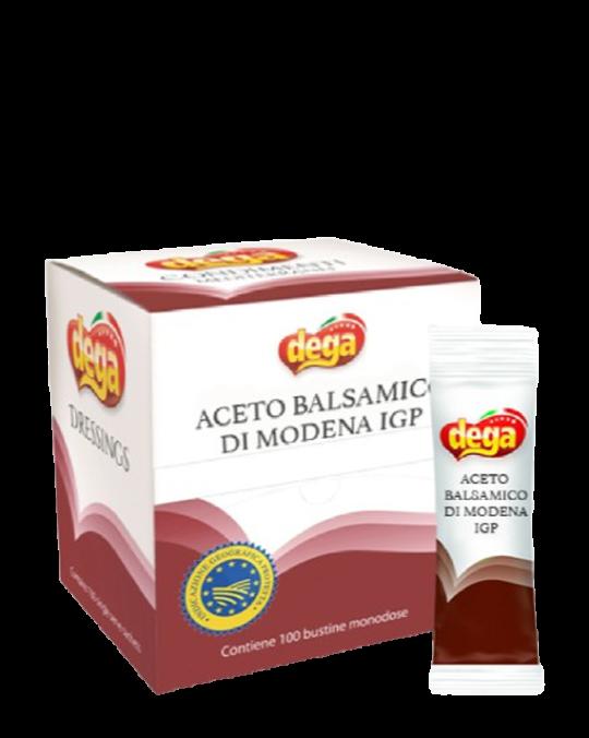 Balsamic Vinegar Aceto Balsamico Sachets Dega 100x5ml