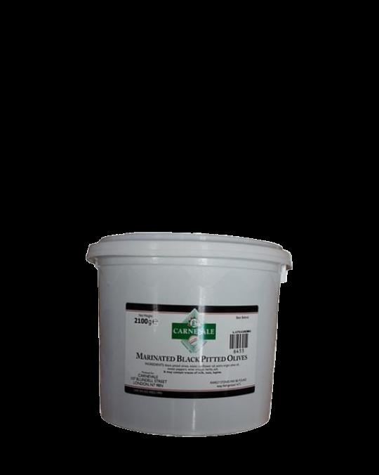 Mar. Black Pitted Olives 2x2.1kg (Net)