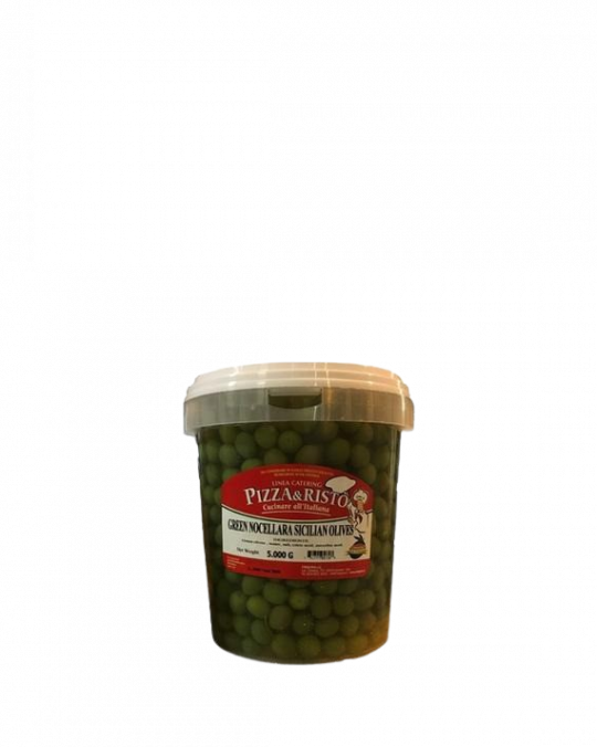 Olive Verdi Nocellara Del Belice 5kg Cinquina