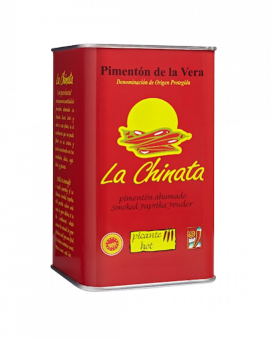 Smoked * Hot * Paprika Tin 750Gr