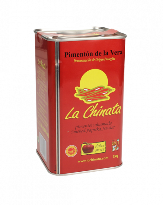 Smoked * Sweet * Paprika Tin 750Gr