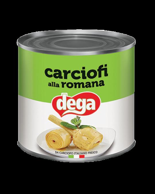 Artichoke with Stalk Carciofi alla Romana Con Gambo Dega 2.4kgr