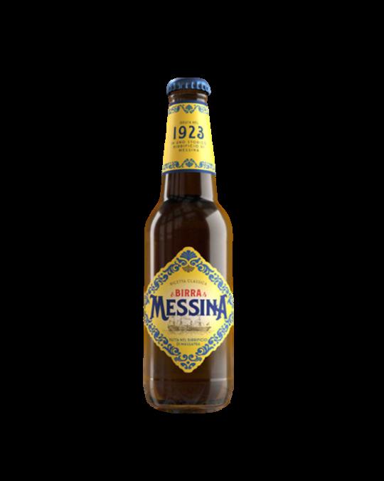 Birra Messina Beer 4.7% Bottles 24x33cl