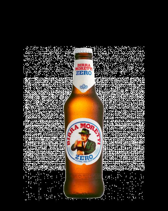 Moretti Zero 24x33cl - Alchohol Free Beer