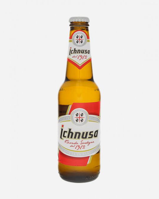 Birra Ichnusa 4.7% Bottles 24x33cl