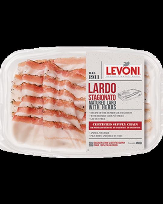 Lardo Di Castagna Sliced Levoni 10x80gr