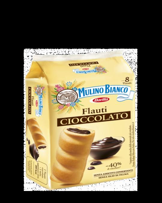Chocolate Flauti Cioccolato Mulino Bianco 12x280gr