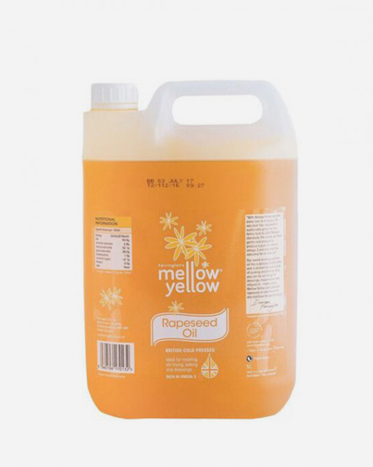 Rapeseed Oil Mellow Yellow 5lt