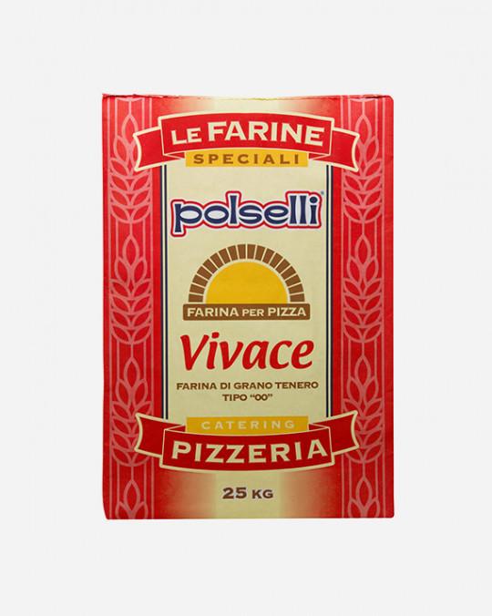 Farina Pizza * Rossa Vivace* Polselli 25kg