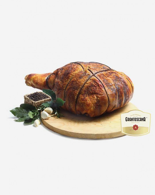 Porchetta Cooked in Wood-Fired Oven San Savino 8kg