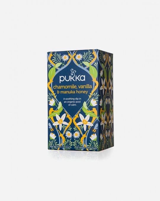 Tea Camomile Vanilla & Manuka Pukka 4x20