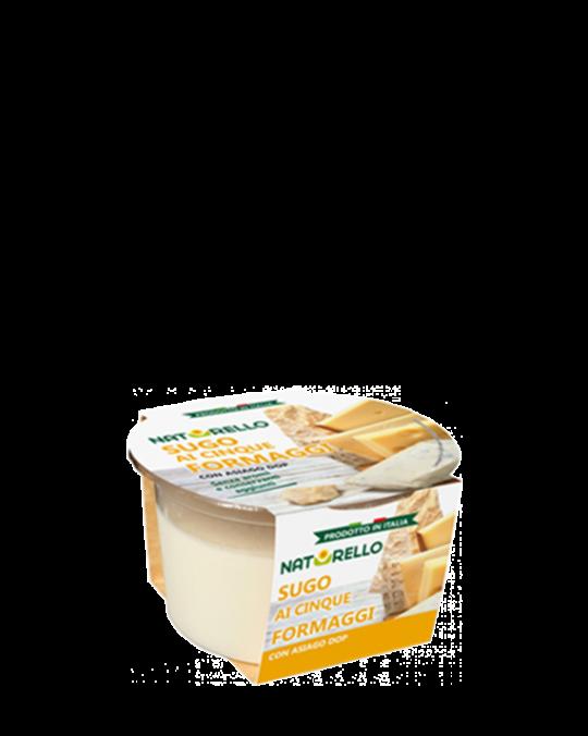 Fresh Five Cheese Sauce Sugo ai Formaggi Naturello 6x160gr