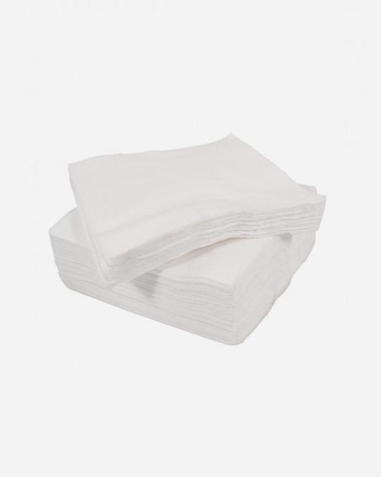 1 Ply White Serviettes 33 xm x33cm x5000