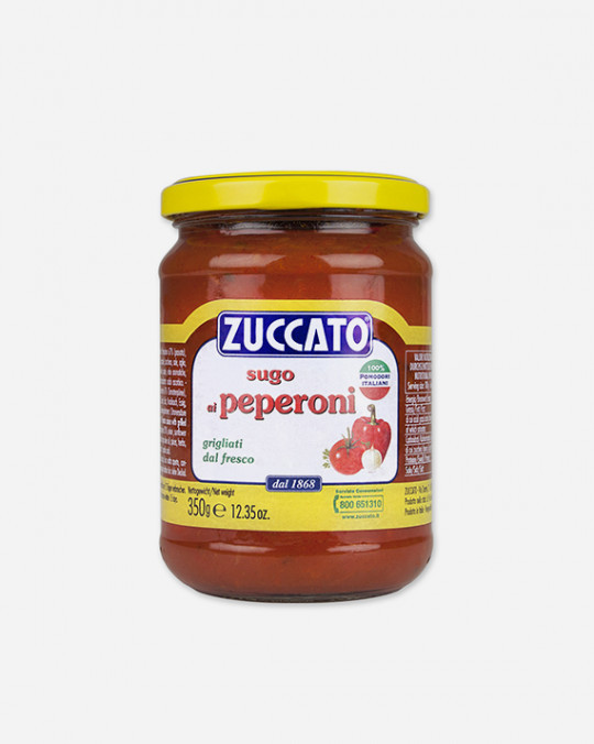 Gilled Peppers Salsa Peperoni Griglia Zuccato 6x350gr