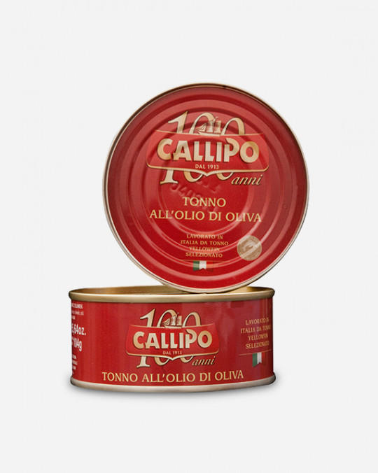 Tuna In Olive Oil Callipo Tin 12x160gr